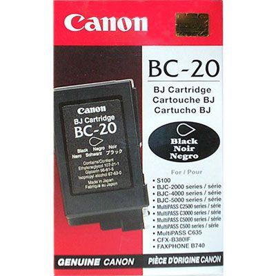 BC-20 - Глава черна