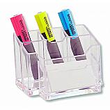 Органайзер за бюро ARK 766, прозрачен, с 6 отделения