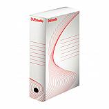 Архивна кутия Esselte 128102, велпапе, 33 х 25 х 10 см, бяла