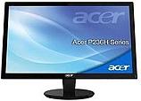 Monitor P236Hbd - 23'' TFT, 16:9 FullHD, 5ms, 80000:1, VGA + DVI, ACM+ADM, MPRII, Black