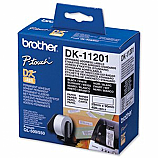 Brother етикети DK-11201 за QL принтери, за адреси, бели, 29 мм х 90 мм, 400 бр