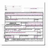 Бюджетно платежно нареждане блок 1092Р(1), розово, химизирана хартия, 100 л