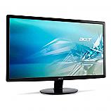 Monitor S231HLbd Slim LED - 23'' 12 000 000:1, 16:9 FullHD 1920x1080, 5ms, 250cd/m2, VGA +DVI, MPRII, Black Glossy