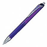 Автоматичен ролер Pentel HiperG KL257, гелово мастило, връх 0.7 мм, лилав