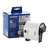 Brother етикети DK-11202 за QL принтери за пратки, бели, 62 мм х 100 мм, 300 бр