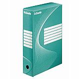 Архивна кутия Esselte 128414, велпапе, 33 х 25 х 8 см, зелена