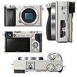 Цифров фотоапарат, Sony Exmor APS HD ILCE-6000 silver