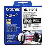 Brother етикети DK-11204 за QL принтери, универсални, бели, 17 мм х 54 мм, 400 бр