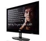 """Монитор, LG E1940S-PN, 18,5"""", Wide LED, 5ms GTG, 5000000:1 DFC, 250cd, 1366x768, Glossy Black"""