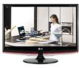 "Монитор, LG M1962D-PC, 18,5"" Wide, LCD, 5ms, 50000:1 DFC, 250cd, 1366x768, DVI, HDMI, HDTV, Speakers, TV Tuner, USB Quick View, Glossy Black"