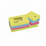Cамозалепващи листчета Post-it Energy, 38 х 51 мм, 12 бр./опаковка