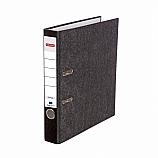 Класьор Delmet, А4, 5 см, мет. кант, мраморен дизайн