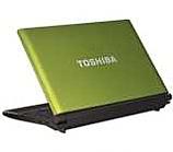 "Преносим компютър, Toshiba NB520-10C Atom N550(1.50), 1 GB (1+0), 250GB, 10.1"" LED, Intel shared, No ODD, Webcam-0.3, Office 2010 Starter, bgn, W7 Starter, Lime green w/ dots, KB Black genchaku, Li-Ion 6-cell(5600), 2 yr carry-in"