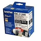 Brother етикети DK-11208 за QL принтери за адреси, бели, 38 мм х 90 мм, 400 бр