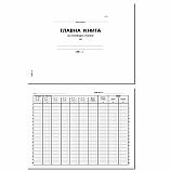 Главна книга за месец (ЖО) книга 1-776, вестникарска хартия, 100 л
