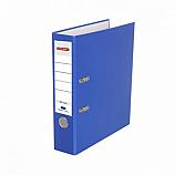 Класьор Delmet, A4, 7.5 см, РР, сменяем етикет, син