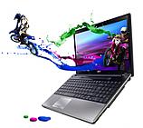 "Acer Aspire 5745DG-5464G75Bnks, Black, LX.R0102.051, CPU Intel Core i5-460M, 15.6"" HDReady, nVidia GT425M, 4GB RAM, 750GB HDD, Win.7 HP"